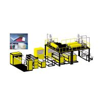 China China Vinot Bset Price Wide In Width PE Air Bubble Film making Machine 3000mm 7.5 TON Weight Model No. DYF-2200 wholesale