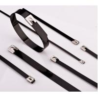 China Stainless Steel Cable Ties PVC Coated on sale