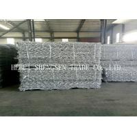 China PVC Coated / Galvanized Gabion Wall Mesh With Double Twist Hexagonal Mesh wholesale