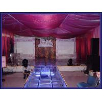 China Used Portable Stage With 18mm Thickness Glass Board wholesale