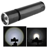 Quality led rechargeable flashlight for sale