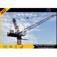 Quality Tip Load 2T Electric Tower Crane Max Height 162M Schneider Electric Box for sale