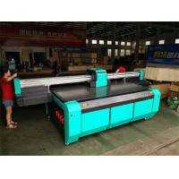 Buy cheap 2500*1300mm UV Flatbed Printer with Double DX7 heads for rigid flat material from wholesalers