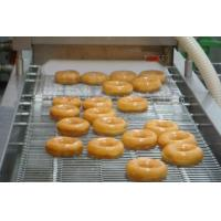 12000 Pcs / Hr Industrial Donut Making Machine With Customized Hexagonal Cutter