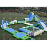 China Crazy Adult Outdoor Exciting Inflatable Water Park Floating Aqua Park wholesale