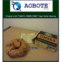 China Various sizes OEM Tapered Roller Bearing , Timken long life products 33895 / 33821 wholesale