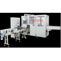 China Germany Quality Plastic Tissue Paper Packing Machine 90pack/Min , Servo Motor wholesale