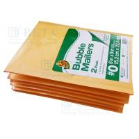China Retail Shrink Pack Kraft Bubble Mailer 2pk #0 With Custom Label wholesale