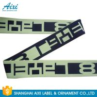 China Printed Elastic Waistband 20MM - 50MM Jacquard Elastic Waistband For Underwear / Cothing wholesale