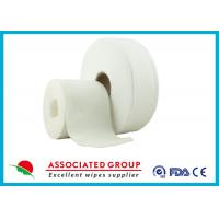 China Cross Lapping Spunlace Non Woven Roll wholesale