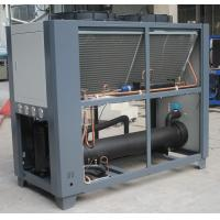 Packaged Type Air Cooled Industrial Water Chiller Units With Big  #7F584C