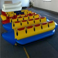 China 5 Persons High Quality Inflatable Banana Boat with Competitive Price wholesale