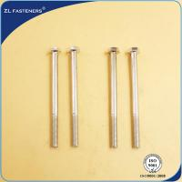 China Professional Brass Hex Head Bolts , Din 931 8.8 Bolts Carbon Steel Material wholesale