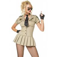 China High Quality Halloween Sexy Police Costumes Sexy Sheriff Costume wholesale