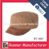 Buy cheap 100% cotton army military cap from wholesalers