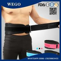 China WG-FS074 Weight Lifting Belt Gym Back Support Fitness Training Belts 6.69 Inch Wide Black wholesale