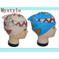 China swimming cap for children 3-10 years wholesale