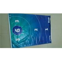 China Waterproof 510gsm Glossy / Matee PVC Vinyl Banners With Grommets wholesale