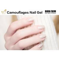 China Long Lasting Uv Gel Builder , Nail Salon Gel Polish Camouflage For DIY Art wholesale