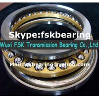 China Large Size 510/950 M SKF Single Direction Thrust Ball Bearing Brass Cage wholesale