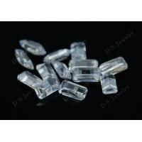 top quality wholesale customize cut white zircon gemstone