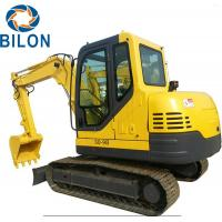 Buy cheap High Power Mini Crawler Excavator 6 Ton Operating Weight With 4.8km/H Rated from wholesalers