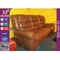 China Environment Friendly Home Theater Sofa Electric Reclining Chairs With Bottle Holder wholesale