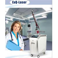 China Q Switched Nd Yag Laser Pigmentation Removal Machine With 7 Articular Diaphragm Arm wholesale