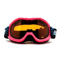 China Pink Waterproof UV Protection Kids Ski Goggles Helmet Compatible with CE certificate wholesale