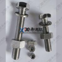 China hastelloy C276 stainless steel metric hex bolt AISI B18.2.1 wholesale