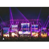 Buy cheap RGB Portable Stage Background Led Display Big Screen 6000 Nits With Video from wholesalers