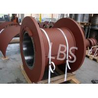 China JZSC—T Model Wire Rope Winch Drum , Lebus Grooved Drum Hydraulic Drive wholesale