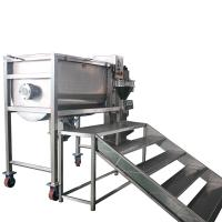 China Stair Ribbon Mixer Machine For Agriculture Pesticide Powder CE Approval on sale
