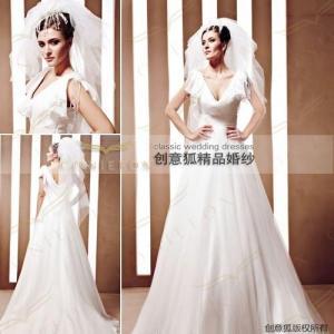 China dinified celebrity wedding dresses,  stylish celebrity bridal dresses 90080 wholesale