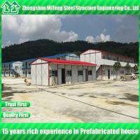 China Prefabricated house Light Steel frame building with lower cost for construction real estate wholesale