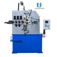 China Blue Three Axis Automatic Spring Coiling Machine With Pitch Servo Motor 1.5 Kw wholesale
