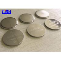 China Clocks Rechargeable Lithium 3v Battery , Button Cell Battery  For Switch Board wholesale