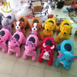 China Hansel  plush walking unicorn electric animal toy  electric bikes ride for sale wholesale