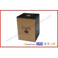 China Collapsible Tuned Edge Packaging Craft Paper Packaging Boxes for Cups wholesale