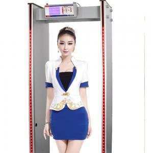 China 6 / 18 Zone Switchable Walk Through High Sensitive Metal Detector MCD600 on sale