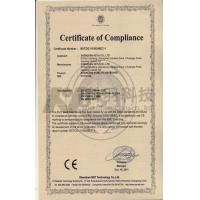 Dongguan Chuangwei Electronic Equipment Manufactory Certifications