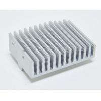 China Anodized Aluminium Heatsink Extrusion Profiles With Finished Machining wholesale