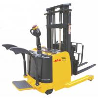 China 1.5 Ton Forklift Reach Stacker , Single Scissor Forward Warehouse Stand Up Forklift wholesale