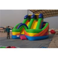 China Commercial Inflatable Water Slides For Toddlers Screen Print  / Hand Painting wholesale