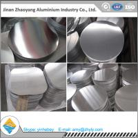 China Packing / Refrigeration Industries Aluminum Discs Thickness 0.55mm - 5.50mm wholesale