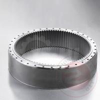 China Hydraulic Press Forged Spindle Large Gear Ring Forging Carbon Steel wholesale