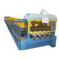 China Industrial Steel Floor Decking Sheet Metal Roll Forming Machines With CE wholesale