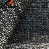 Quality HDPE Warp Knitted Agriculture Shade Net Custom Black UV Stabilzied for sale