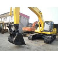 China PC200 - 6 Second Hand Komatsu Excavator , 19180KG Used Heavy Equipment 132.8HP wholesale