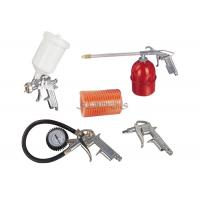 Quality 5PCS Spray Gun Kits 600ml Plastic Cup 5m PE / PU Hose Washing Gun ,Tire Inflating Gun for sale